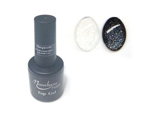 MOONBASA Glitter Fényzselé 6ml,Fixálásmentes leoldható ,top17#