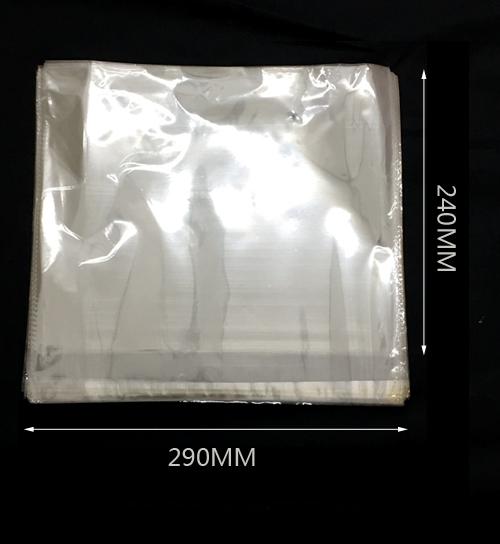 Átlátszó öntapadó opp zacskó 290mm x240mm 200/cs