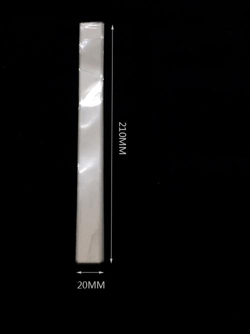 Átlátszó opp zacskó 20mm x210mm 200/cs