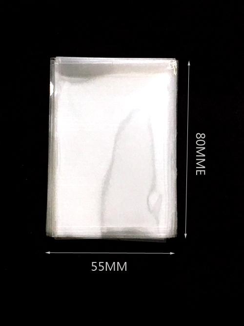 Átlátszó opp zacskó 50mm x80mm 200/cs