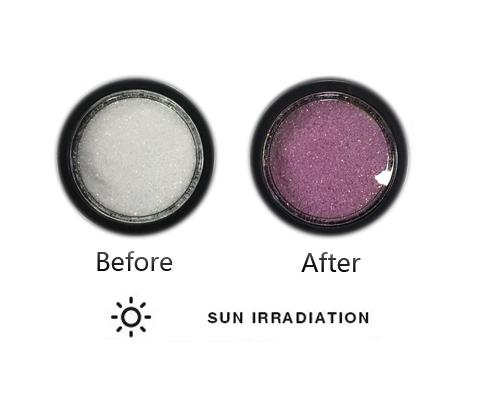 UV színváltó csillámpor