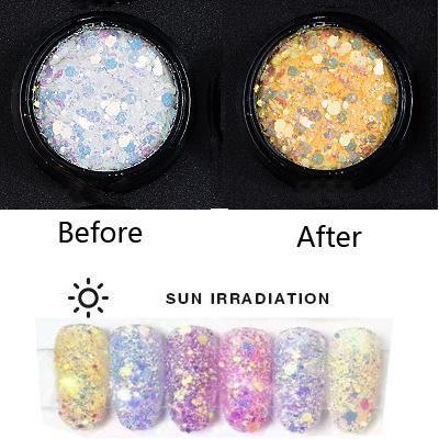 UV színváltó glitter