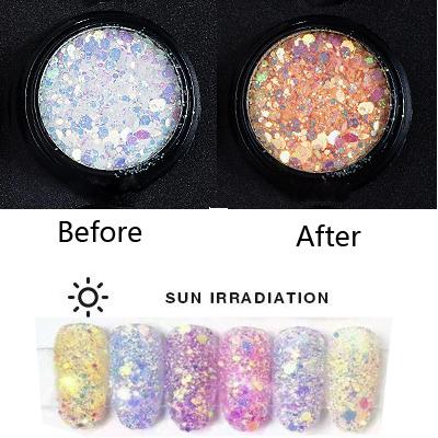 UV Effect glitter