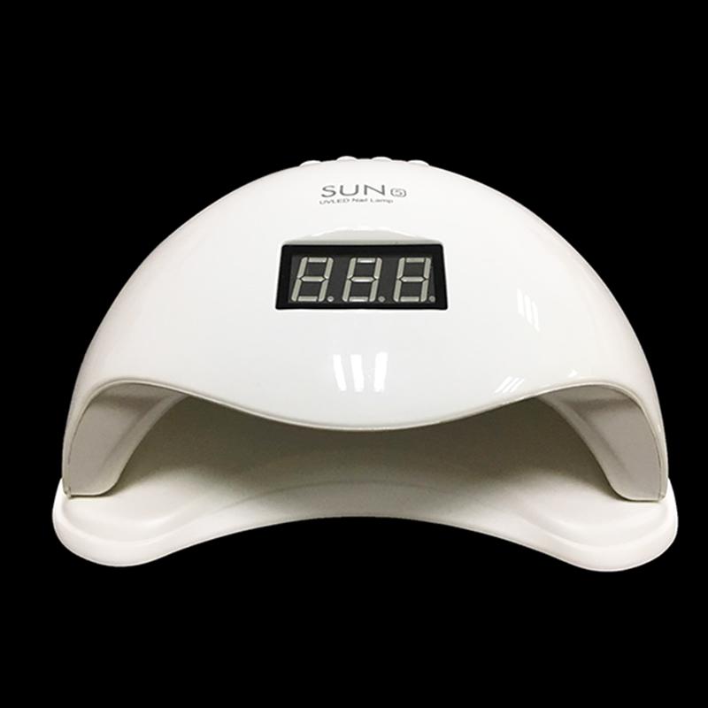 2in1 LED/UV  nail lámpa 48W, fehér