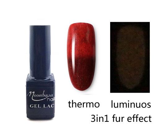 MBSN- 3in1 Fur Effect lakkzselé 5ml 484#