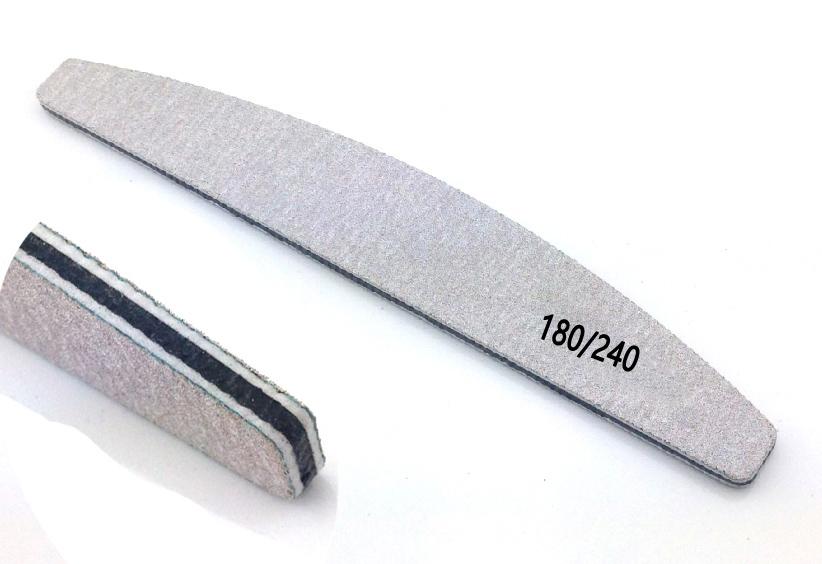 Szürke/íves reszelő,középen fekete 180/240