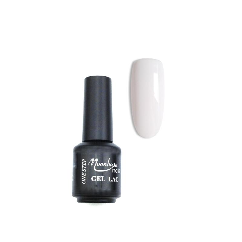 Moonbasanails ONESTEP Lakkzselé 5ml-346#,pink fehér