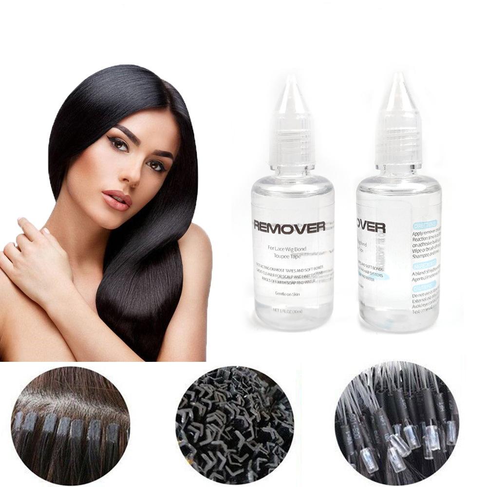 Oldószer (Póthajhoz)hőillesztett haj eltávolításához,30ML