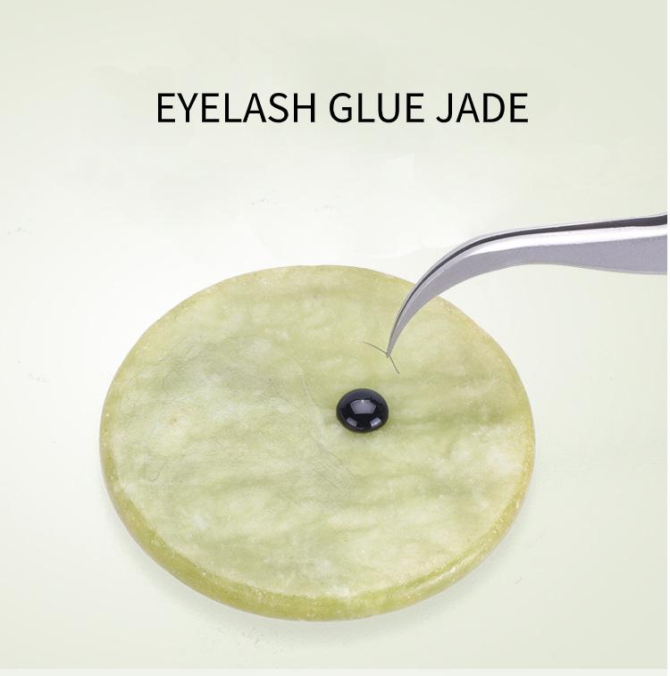 Jade kő ragasztótartó 5cm