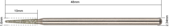 karbid gyémántfej-szürke-börhöz