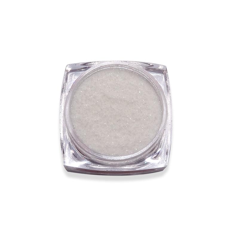 Csillámpor-Candy colors-Ezüst világosfehér