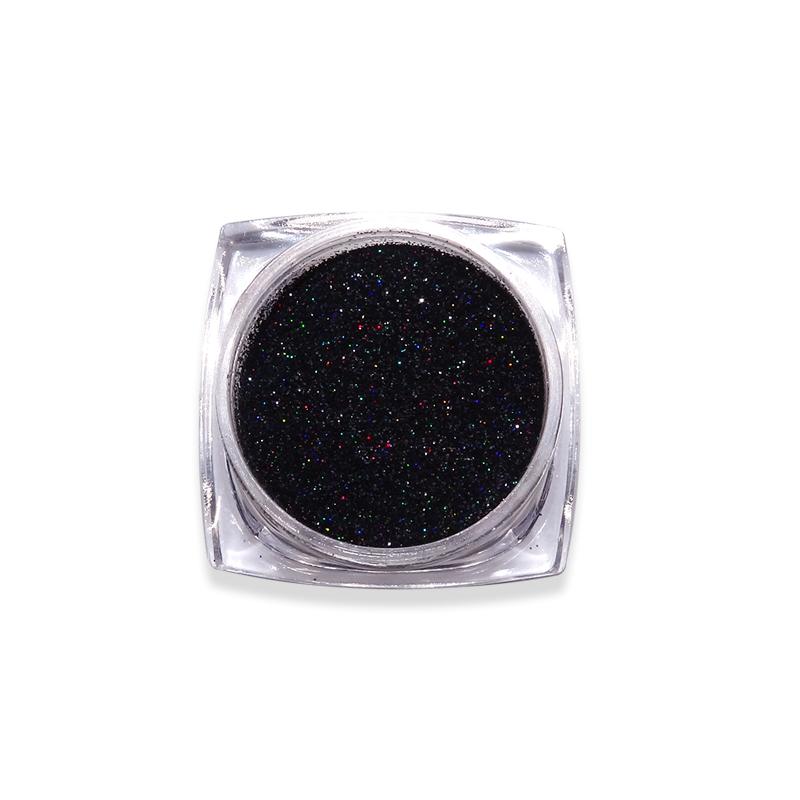 Csillámpor-Candy colors-szűrkés fekete
