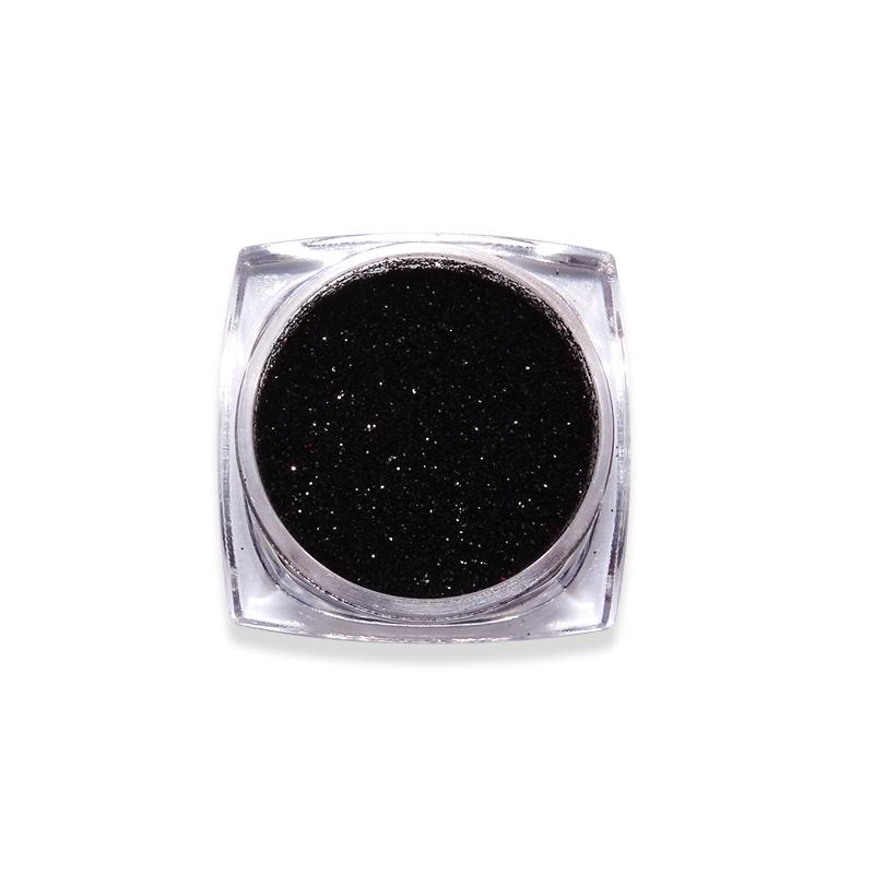Csillámpor-Candy colors-fekete