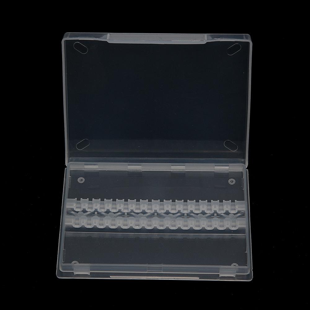 Tároló doboz üres csiszolófejhez