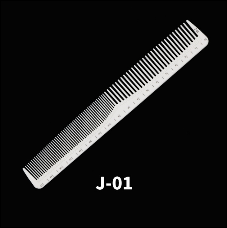 Professzionális hajvágó fésű (antisztatikus) Fehér J-01