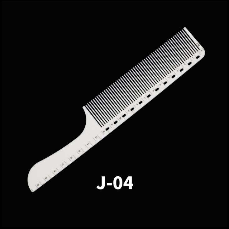 Professzionális hajvágó fésű (antisztatikus) Fehér J-04