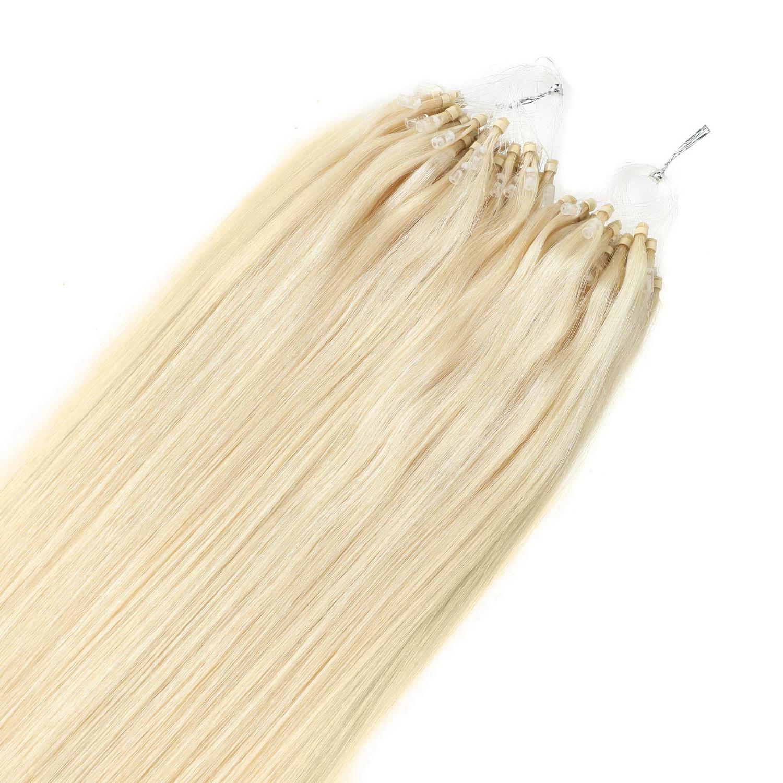 Loops hair extension,100% eredeti haj 100gr,color 613#,