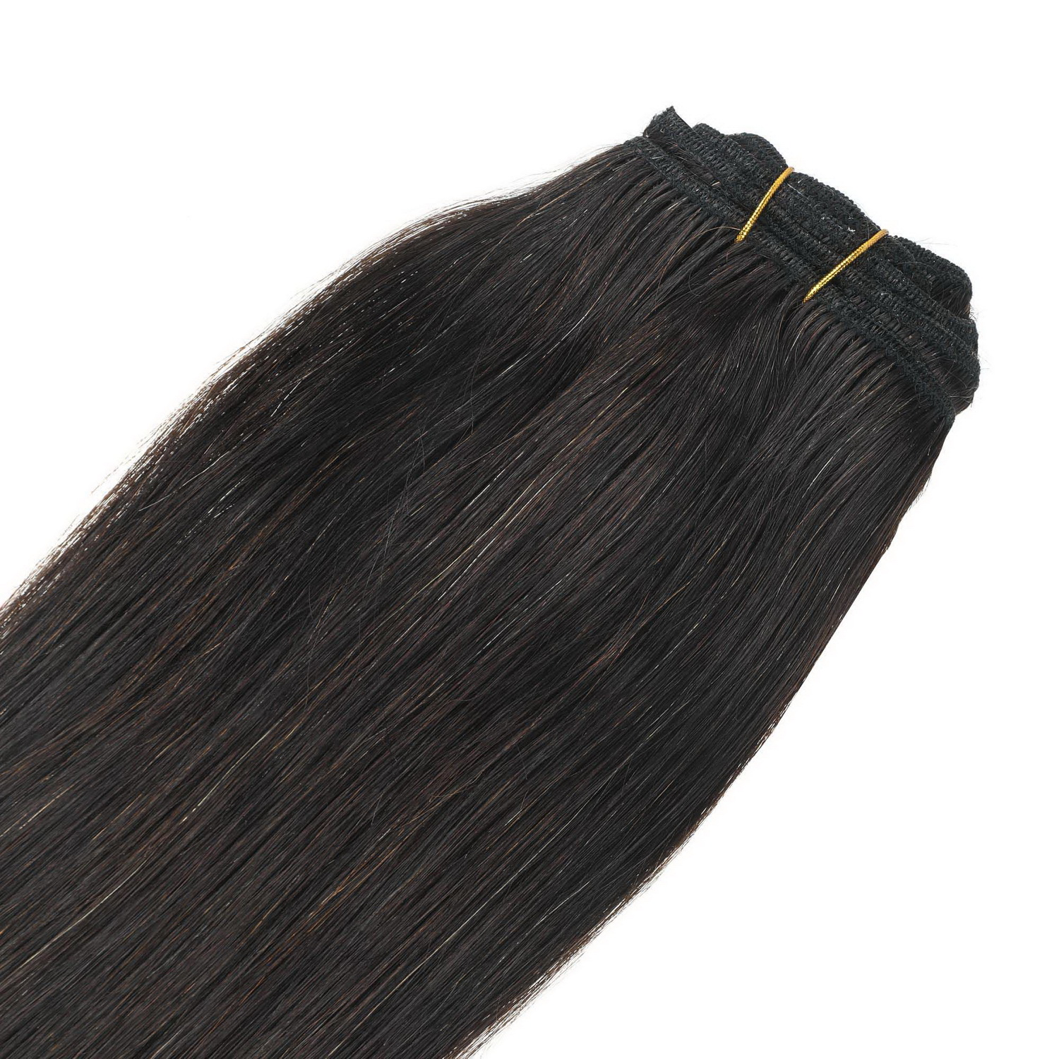 Clip in hair extension,100% eredeti haj 100gr,color 0#(natural)