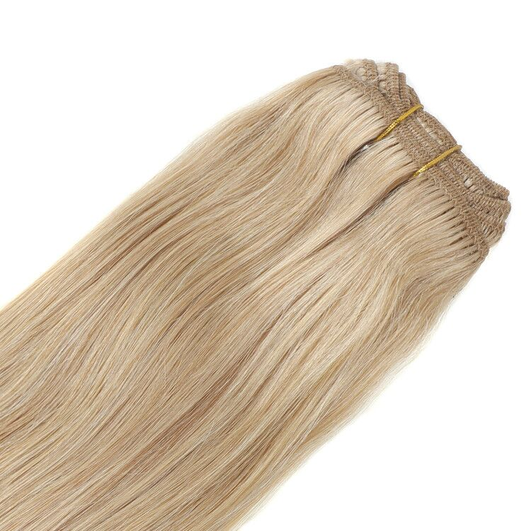 Clip in hair extension(Csatos) ,100% eredeti haj 100gr,color 27#,