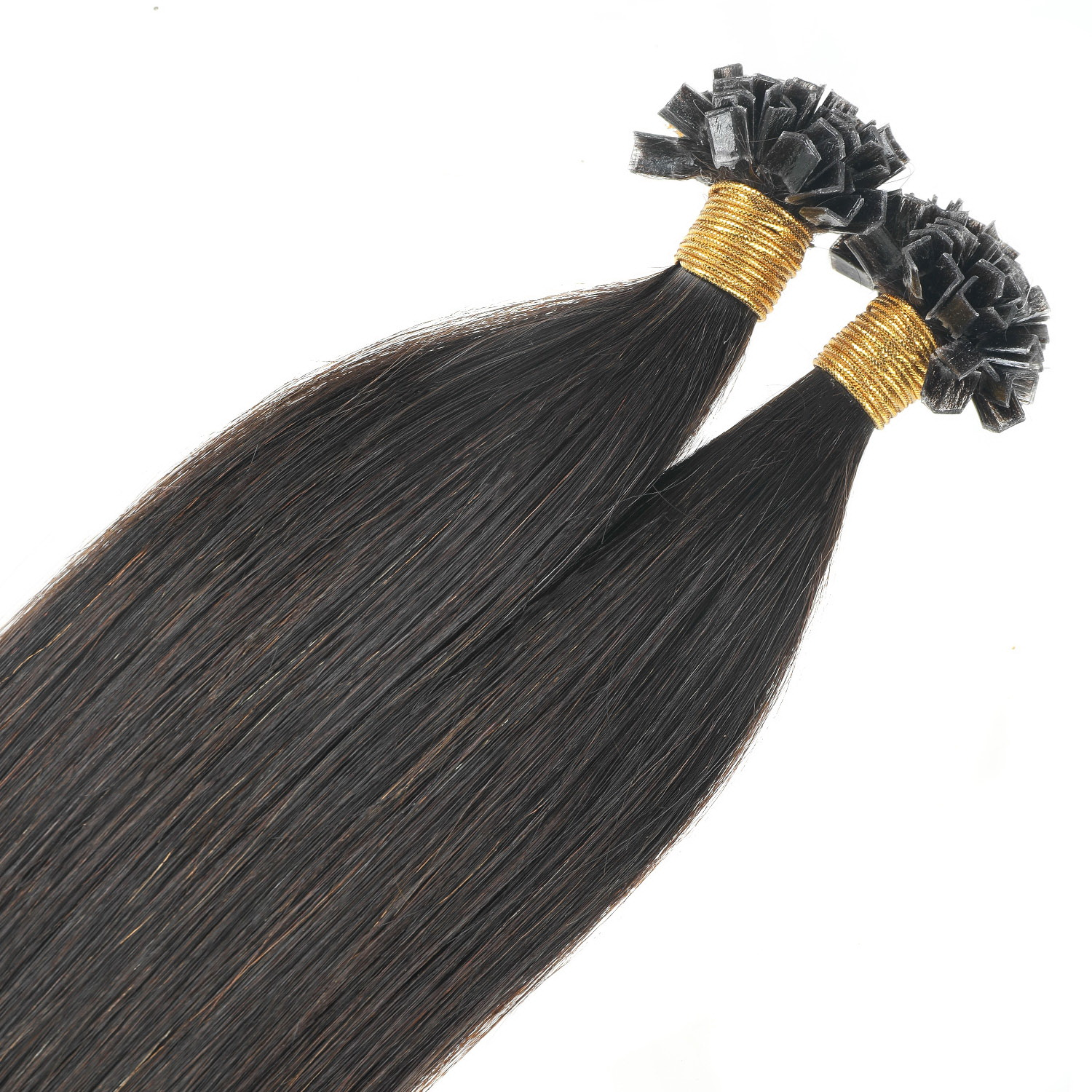 V tip hair extension,100% eredeti haj 100gr,color 0#,(natural)