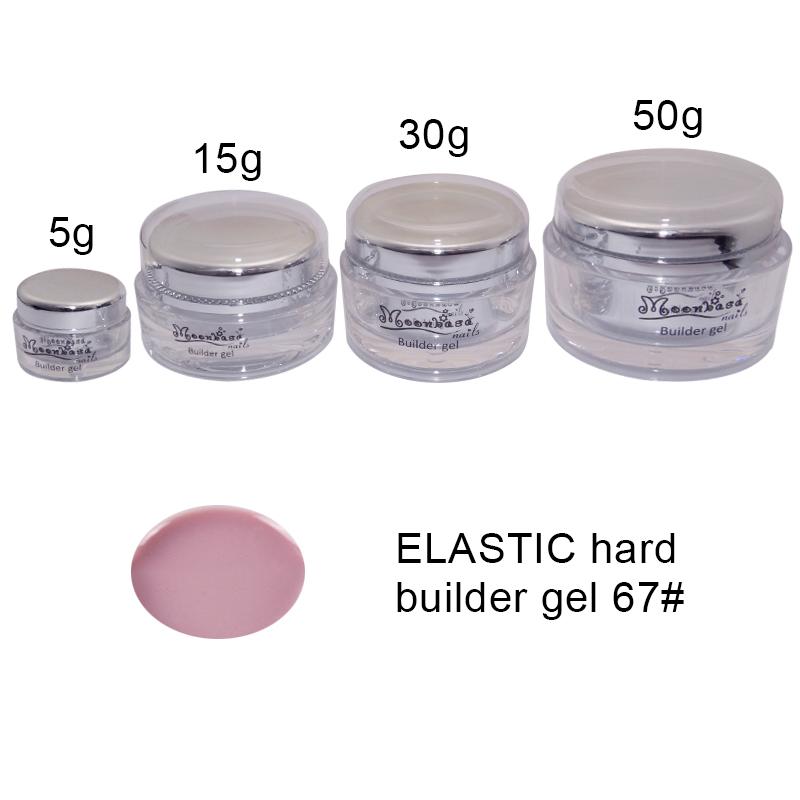 Moonbasanails-ELASTIC hard builder gel 67#-Lakkecsettel felvihető