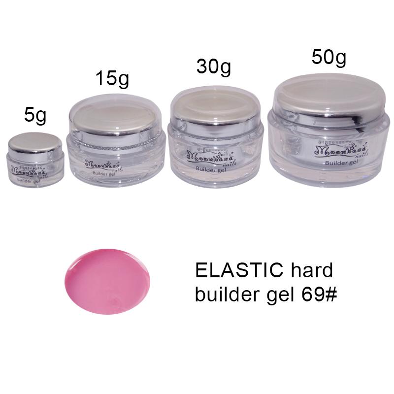 Moonbasanails-ELASTIC hard builder gel 69#-Lakkecsettel felvihető