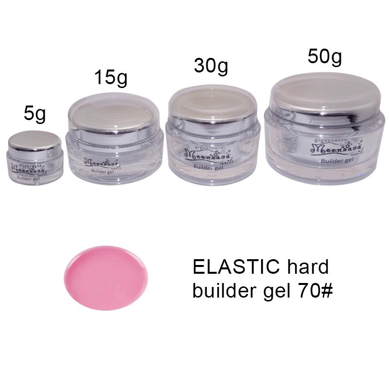 Moonbasanails-ELASTIC hard builder gel 70#-Lakkecsettel felvihető