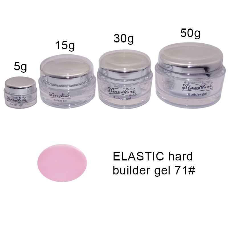 Moonbasanails-ELASTIC hard builder gel 71#-Lakkecsettel felvihető