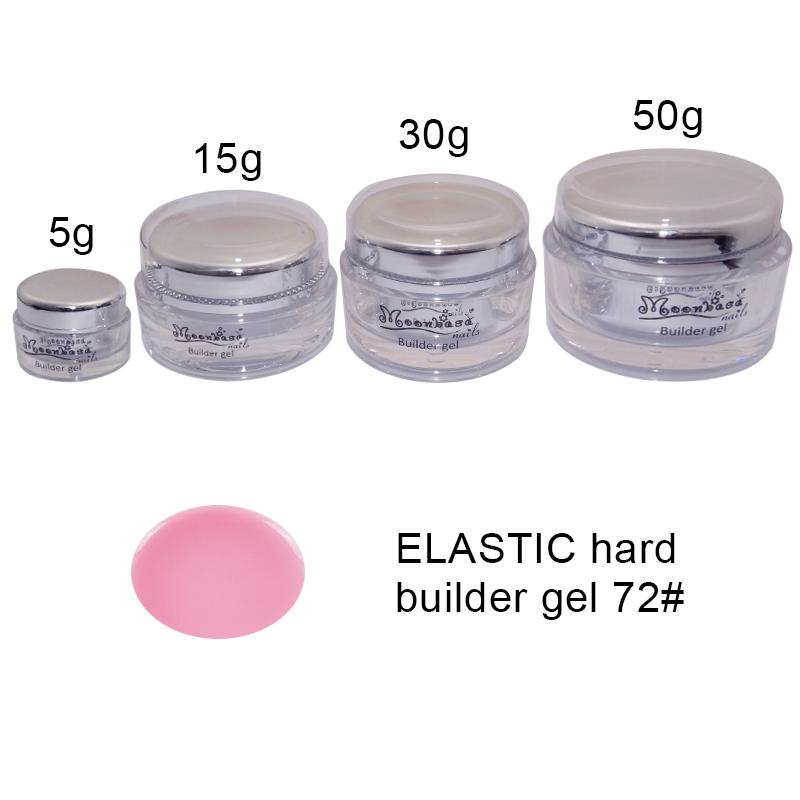 Moonbasanails-ELASTIC hard builder gel 72#-Lakkecsettel felvihető