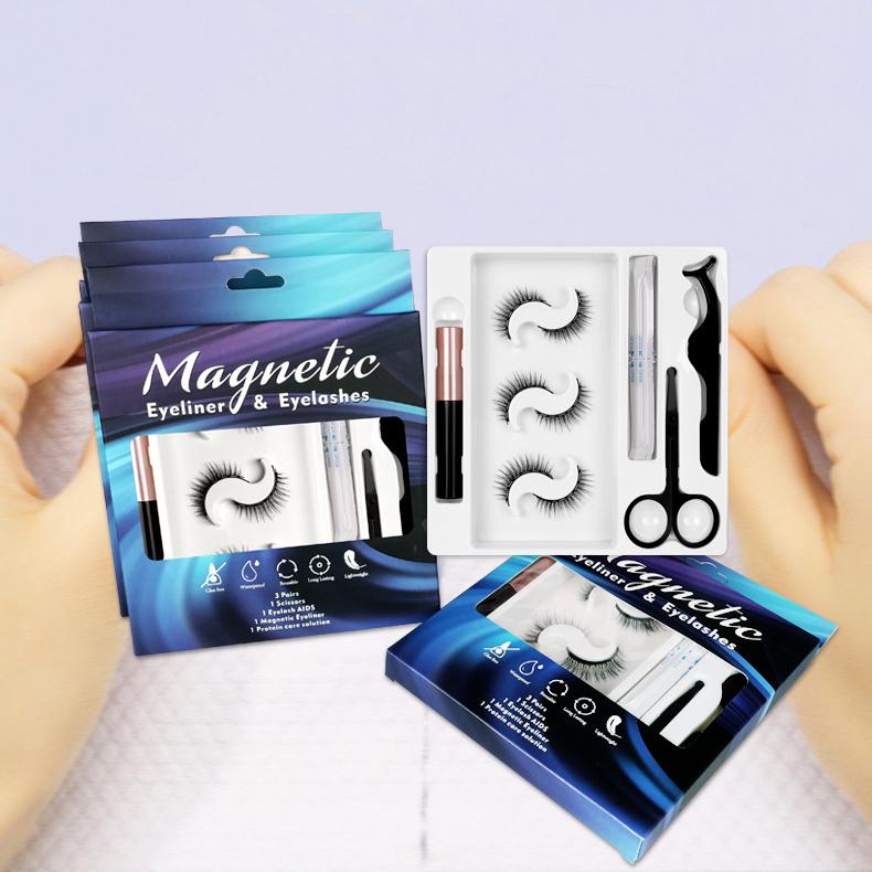 Mix Mágneses szempilla /3pár vegyesen készletben